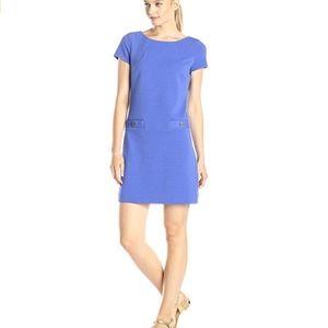 Lilly Pulitzer Layton Blue Shift Dress Pockets